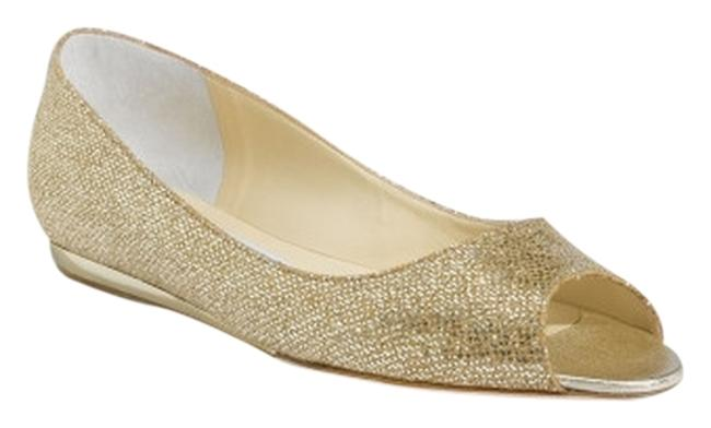 Item - Gold Beck Wedge Flat Formal Shoes Size US 10.5