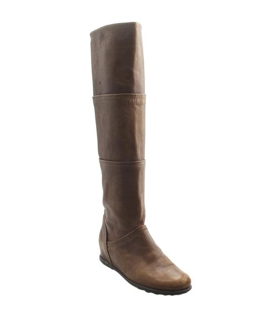 Item - Brown Leather Knee - High (150831) Boots/Booties Size US 7 Regular (M, B)