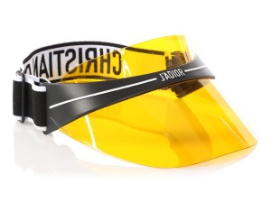 Dior Dior Club 1 Yellow Visor