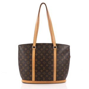 Louis Vuitton Babyloe Canvas Shoulder Bag
