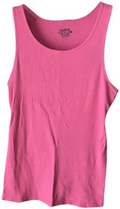 So Cotton Machine Wash Tumble Dry Rounded Neckline Ribbed Styling Top Dark Pink