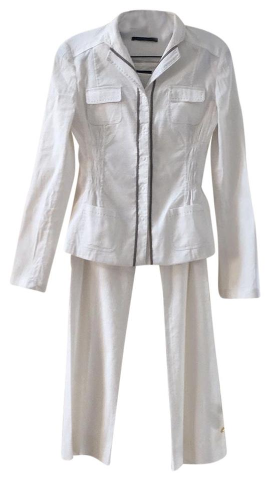 eef51441aeb0 Elie Tahari Off White Summer Pant Suit Size 2 (XS) - Tradesy