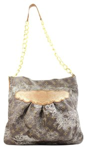 Louis Vuitton Lace Limited Edition Rare Chain Hobo Shoulder Bag