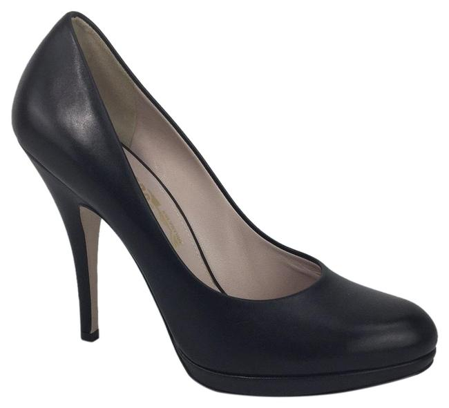 Item - Black 3607 Leather Pumps Size US 8.5 Regular (M, B)