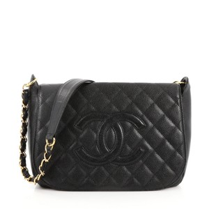 307be14735cb Chanel Timeless Flap black Travel Bag