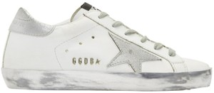 Golden Goose Deluxe Brand Superstar Ggdb White/Silver Athletic