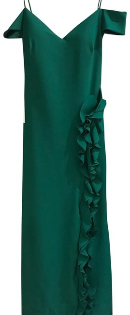 Preload https://img-static.tradesy.com/item/23612013/tarik-ediz-emerald-green-93168-long-formal-dress-size-14-l-0-1-650-650.jpg
