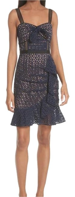 Preload https://img-static.tradesy.com/item/23612102/self-portrait-navy-knot-front-broderie-anglaise-cocktail-dress-size-2-xs-0-3-650-650.jpg