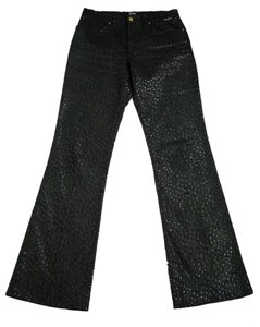 Gianfranco Ferre Boot Cut Jeans-Coated