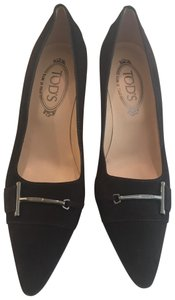 Tod's Chocolate Brown Pumps