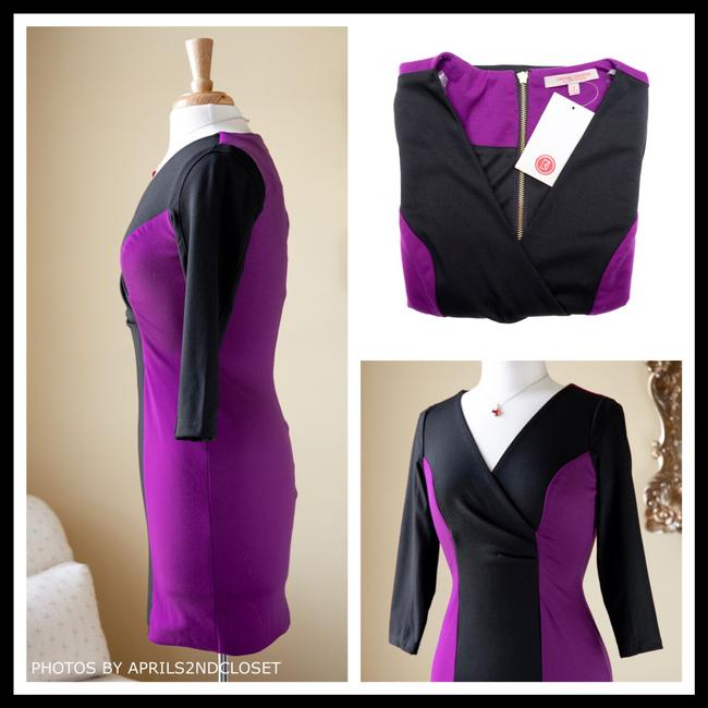 Casual Couture short dress Purple, Black on Tradesy Image 4