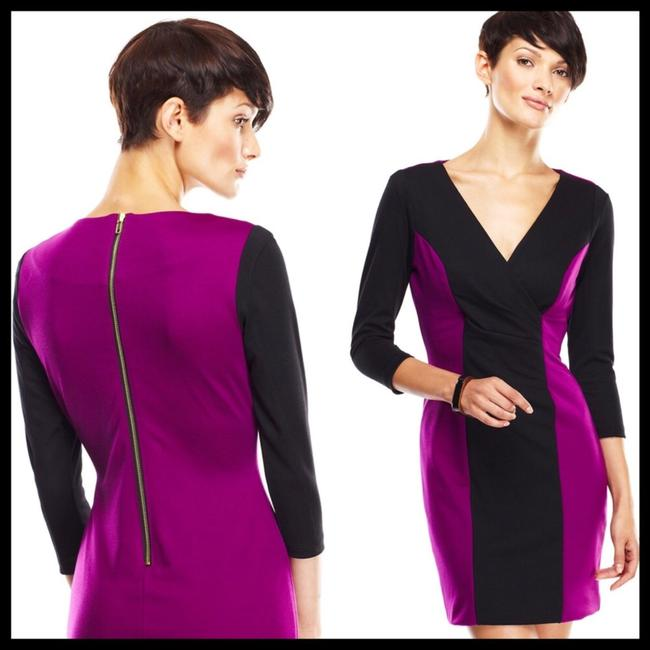 Casual Couture short dress Purple, Black on Tradesy Image 5