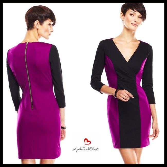 Casual Couture short dress Purple, Black on Tradesy Image 6