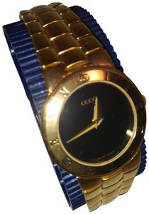 Gucci Gucci 3300 L gold plated watch