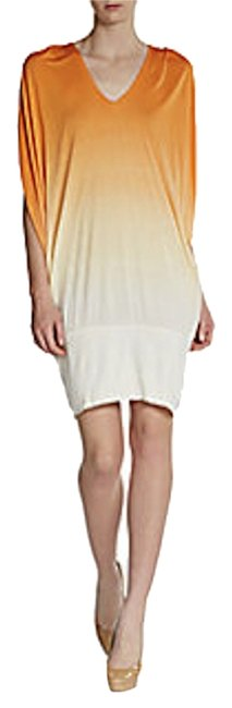 Young Fabulous & Broke short dress Otti Ombr Ombre Orange Slouchy Convertible on Tradesy