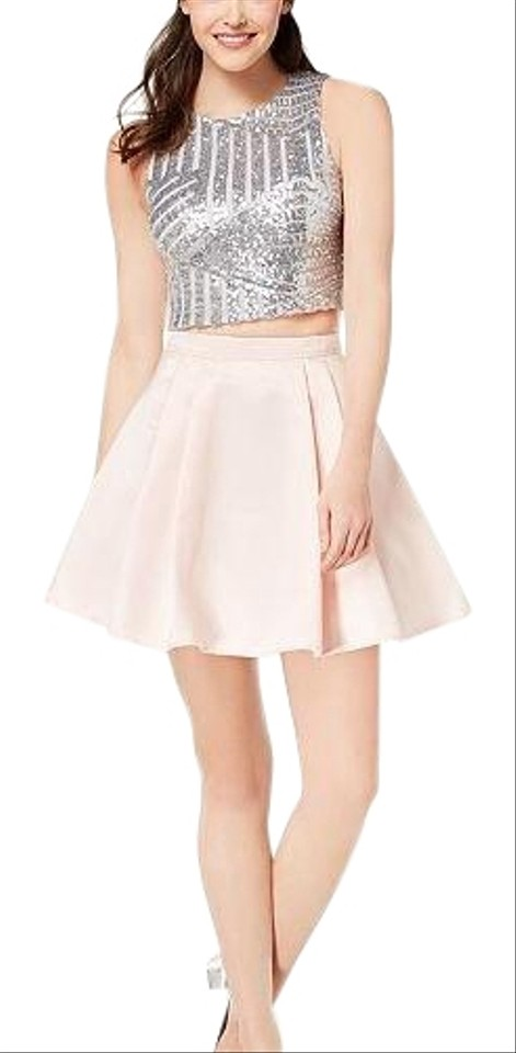 Pink and Silver Dress
