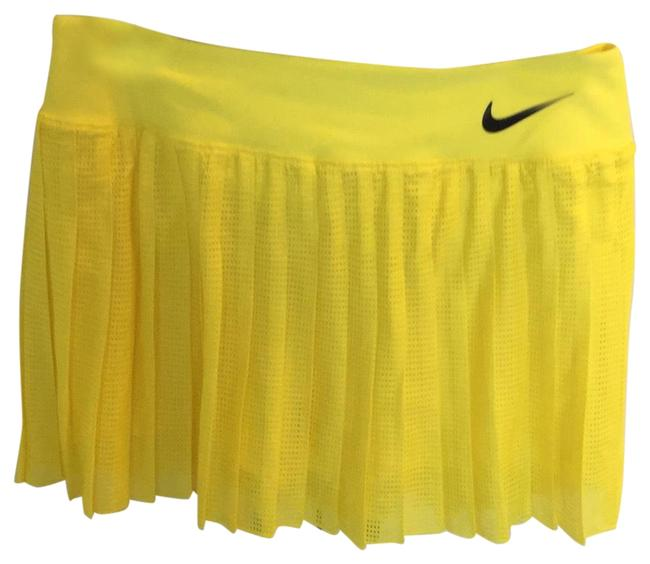 Item - Yellow Victory Pleat Activewear Bottoms Size 6 (S)