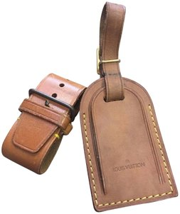 Louis Vuitton Luggage ID tag, handle holder