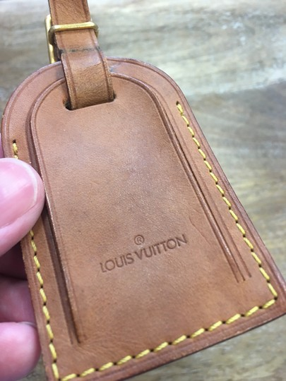 Louis Vuitton Luggage ID tag, handle holder Image 2