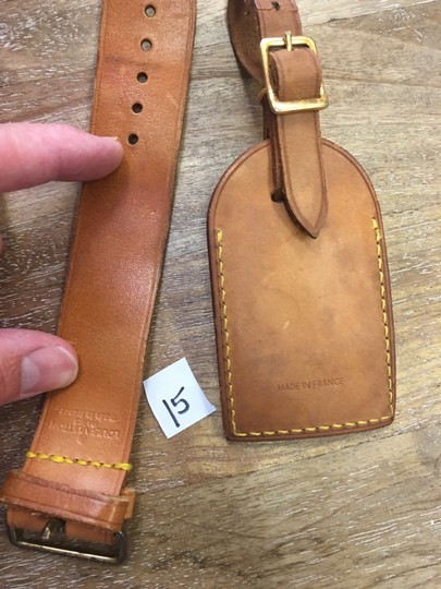 Louis Vuitton Luggage ID tag, handle holder Image 3