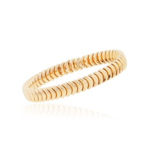 Chimento Chimento 18k Rose Gold Armilas Ridge Curve Bangle Bracelet