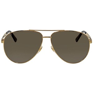 Gucci Brown Gradient Aviator Men's Sunglasses