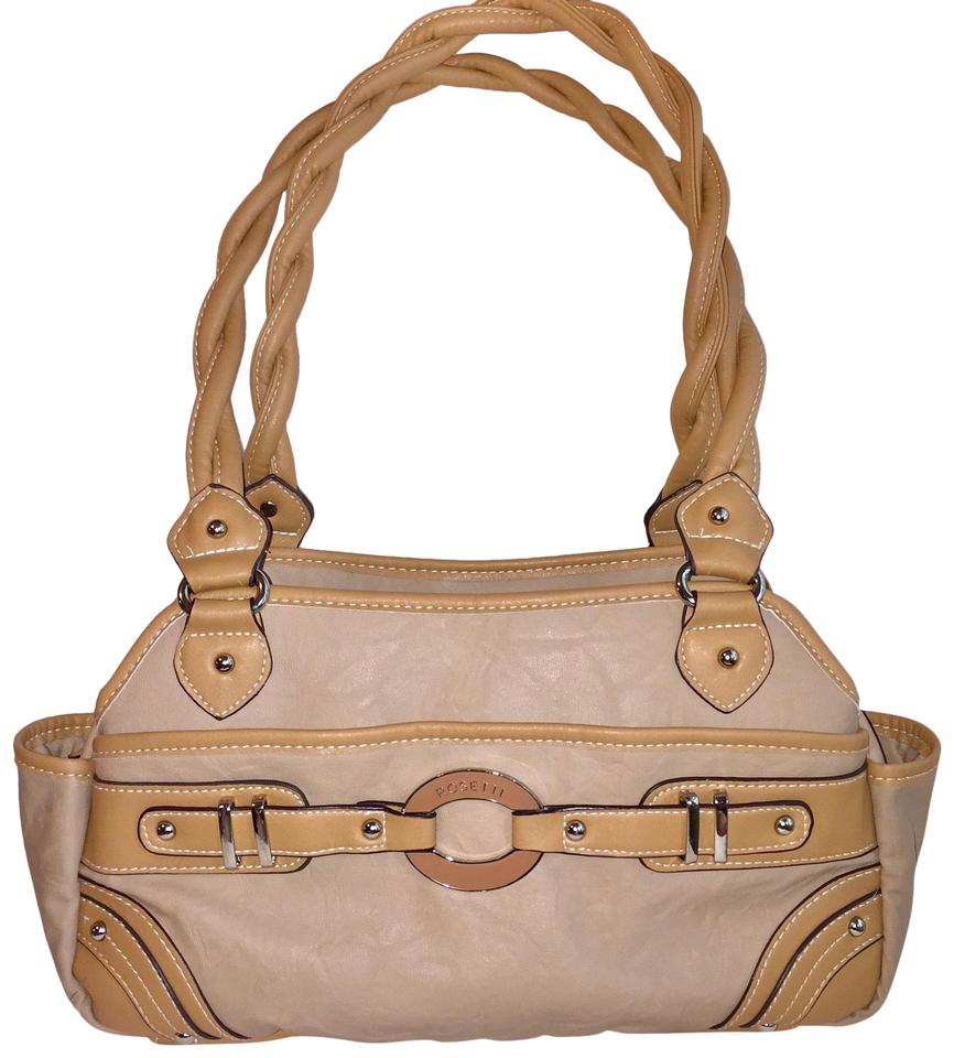 Rosetti Beige   Light Brown Faux Leather Shoulder Bag - Tradesy cf9c0c6393eb3