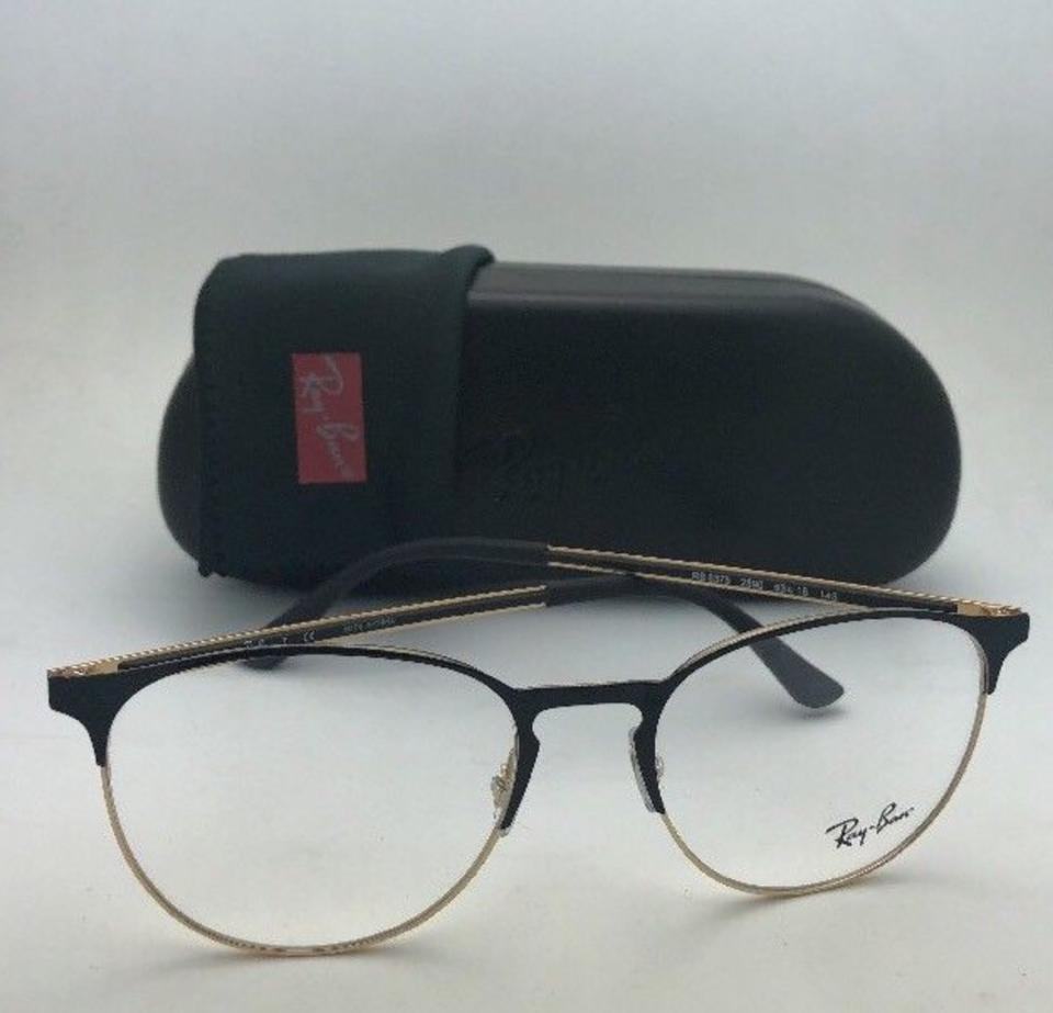b9213571c5 Ray-Ban New Rb 6375 2890 53-18 145 Black   Gold Frame W  Clear Sunglasses