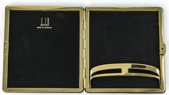 Alfred Dunhill Vintage Dunhill Black Leather and Brass Cigarette Holder Case Image 5