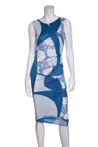 Emilio Pucci short dress Blue on Tradesy