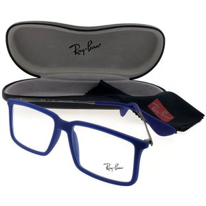 Ray-Ban RX7043-5467-52 Youngster Men's Blue Frame Clear lens Eyeglasses