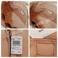Coach Zip Top Leather Shimmer Neutral Tote in Glitter Nude Pink Image 3