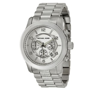 Michael Kors Silver Stainless Steel Chronograph Mk8086 Men's Watch