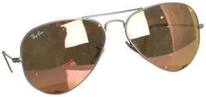 Ray-Ban Ray-Ban Copper Pink Aviator Sunglasses in Case