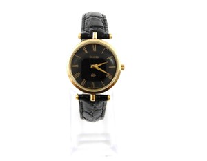 Gucci Gold Stainless Steel Vintage Ribbon Watch