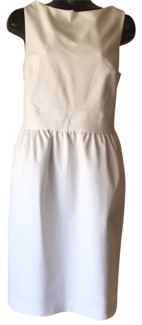 Preload https://img-static.tradesy.com/item/23614329/raoul-white-cara-cross-back-mid-length-short-casual-dress-size-10-m-0-1-650-650.jpg