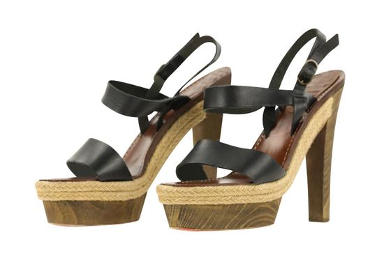 Christian Louboutin Black Sandals Image 3