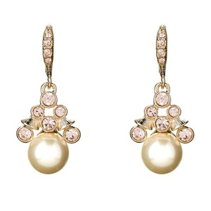 d89623445 Givenchy Gold-Tone Crystal & Faux Pearl Drop Earrings