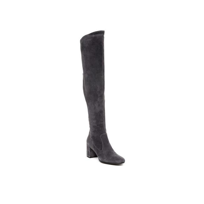 Item - Gray Blythe Suede Over The Knee Boots/Booties Size US 7 Regular (M, B)
