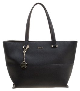Added To Ping Bag Dkny Tote In Black