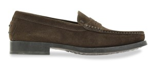 Tod's Soft Leather Suede Brown Mules