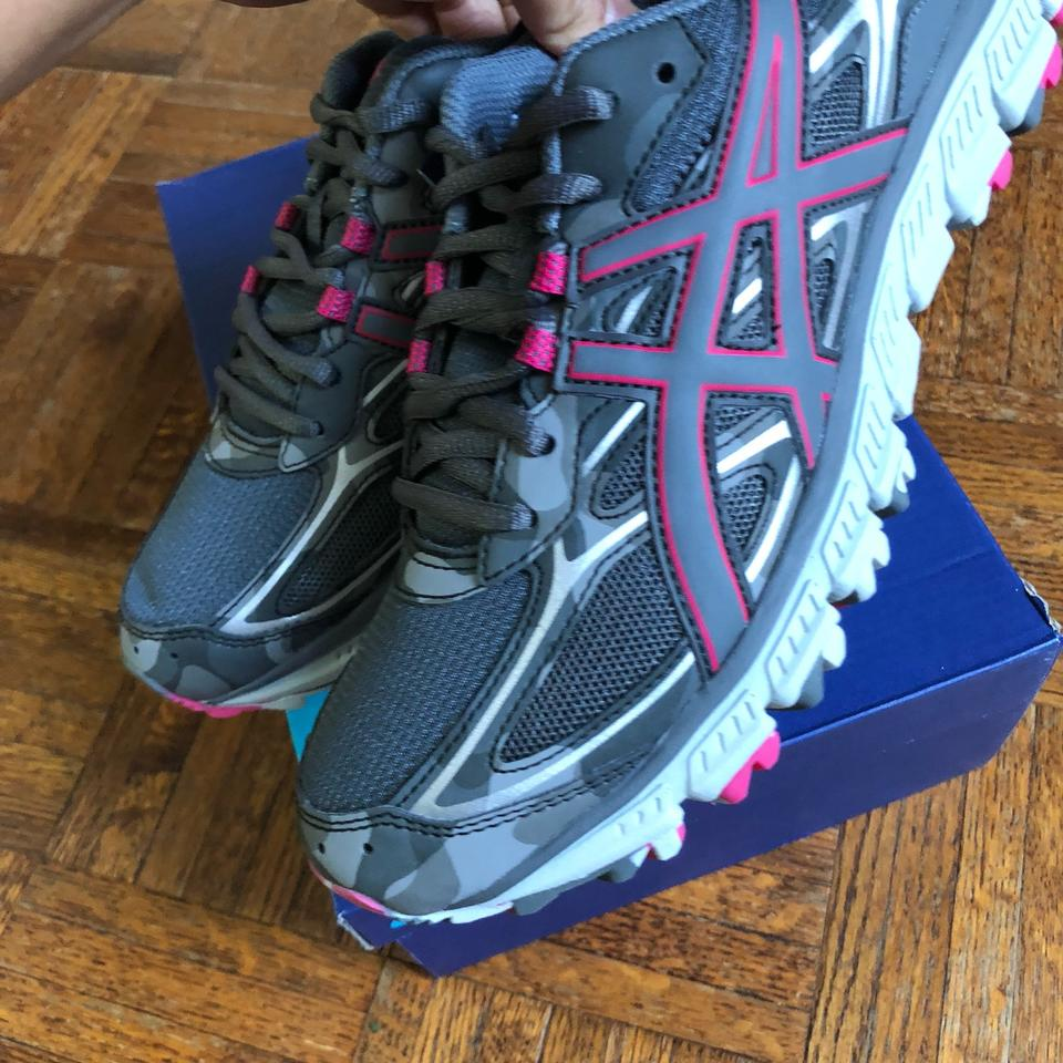 the best attitude 41b92 1bfde Asics Gray Womens Gel-scram 3 Trail Running Sneakers Size US 5 Regular (M,  B)