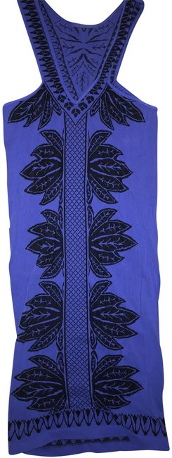 Item - Indigo Just Go with It Bodycon Mid-length Night Out Dress Size 8 (M)