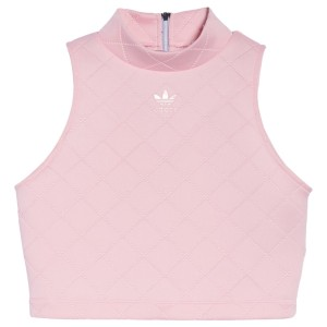 adidas NMD diamond quilted Trefoil Tank crop Top