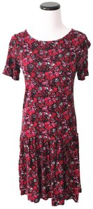 French Connection short dress red, black, pink on Tradesy