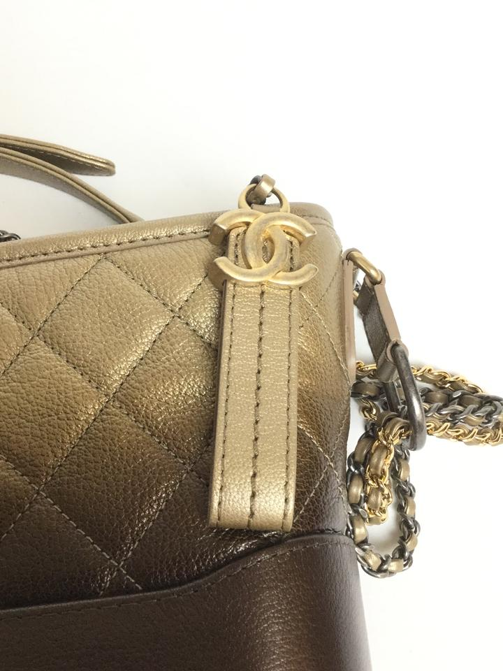 780200a2e6bd Chanel Gabrielle Hobo 10% Off Thanksgiving Day Only Gold and ...