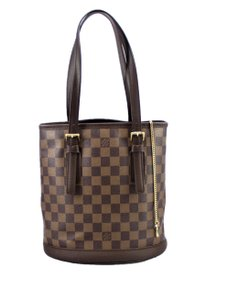 Louis Vuitton Canvas Marais Tote Shoulder Bag