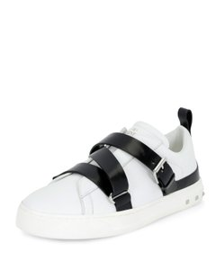 Valentino Sandals Rockstuds Stud Sneakers White/Platino Athletic