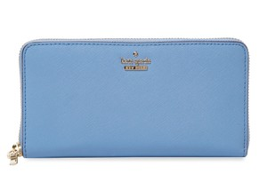 Kate Spade kate spade new york Cameron Street Lacey Tile Blue Leather Wallet