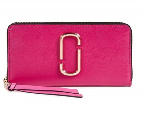 Marc Jacobs Marc Jacobs Snapshot Standard Hibiscus Multi Continental Wallet